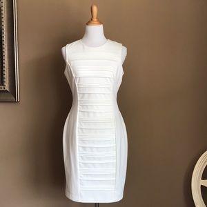 Calvin Klein Ivory Sheath dress size 6